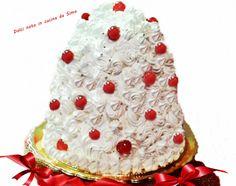 Pandoro innevato Pandora, Cake, Desserts, Food, Pie Cake, Tailgate Desserts, Pastel, Meal, Cakes