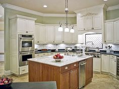 Kitchen Cabinets Off White idyllic dark kitchen cabinets over white granite countertop also
