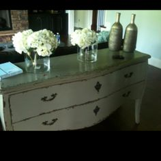 Arhaus French country reproduction. If you can only get a few pieces, make them great.