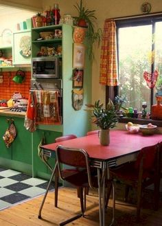 Top 30+ Most Beautiful Bohemian Kitchen Decor for Cozy Kitchen Inspiration http://goodsgn.com/kitchen/30-most-beautiful-bohemian-kitchen-decor-for-cozy-kitchen-inspiration/