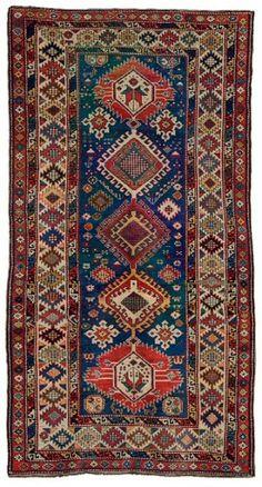 Caucasian Shirvan rug, 1880