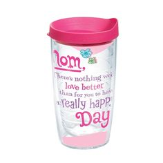 Celebrate Mom 16 Oz Tervis Tumbler With Lid  Available at Citadel Mall, Charleston, SC #shopcitadelmall