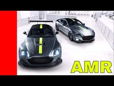 Aston Martin Rapide and Vantage AMR - YouTube