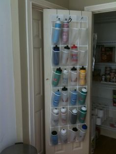 Simple Water Bottle Storage Solution | FTP Coaching Water Bottle Storage, Water  Bottles, Paint