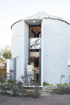 New Life Goal:  Live in a 190 Square-Foot Grain Silo — Dwell