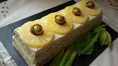 Pastel de atún con piña. Pastel salado con pan de molde