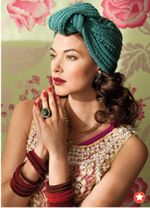 Love this knit hat, or is it a turban?