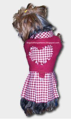 Dog winter dress patterns