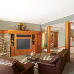 Turn your unfinished basement into beautiful, functional living space. Framing basement walls and ceilings is the core of any basement finishing project. Learn how to insulate and frame the walls and ceilings, build soffits, frame partition walls and frame around obstructions.