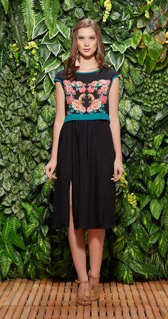Blusa Cropped Panamá | Vestuário | Antix Store