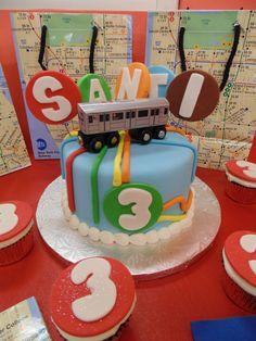 New York City Subway Party Theme! Trains, MetroCards and Subway books too.