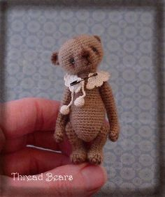 Crochet Thread Bear