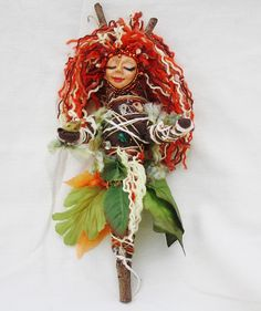 Spirit of the Forest OOAK Spirit Doll by heathershaven on Etsy