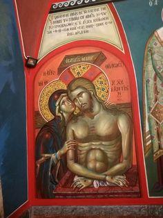 Russian Orthodox, Orthodox Icons, Mural Art, Fresco, Madonna, Jesus Christ, Christian, Baseball Cards, Sf