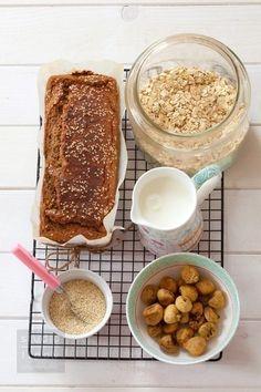 Przepis na chlebek owsiano-bananowy bez mąki / Przepisy - SANTE