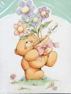 Florynda del Sol ღ☀¨✿ ¸.ღ Anche gli Orsetti hanno un'anima…♥ Forever Memories, Friends Forever, Cute Cartoon Pictures, Cute Pictures, Cool Clipart, Teddy Bear Pictures, Hello Kitty Plush, Candy Flowers, Baby Drawing