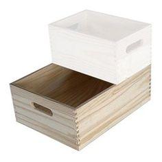 Bloc 3 tiroirs meubles nona pinterest - Caisse en bois castorama ...