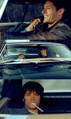 Sam looks so cute and gosh young Dean was so pretty!