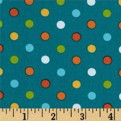 44'' Wide City Centre Polka Dots Teal Fabric By The Yard by Kaufman, http://www.amazon.com/dp/B007TBT5JA/ref=cm_sw_r_pi_dp_O9svqb12ED0YD