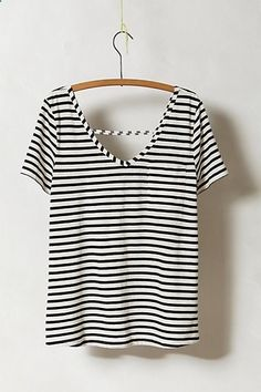 Need to find a cute striped shirt. This one would do. :)