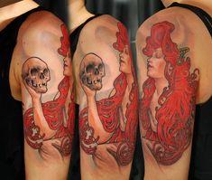 mucha tattoo by bhbettie.deviantart.com on @deviantART