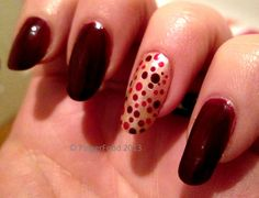 Accent dotticure by FingerFood    http://www.fingerfoodnails.com  http://www.facebook.com/fingerfoodnail