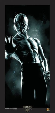 DYNAMIC FORCES® - HELLBOY MOVIE LITHOGRAPH: ABE SAPIEN