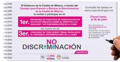 El Gobierno de la ciudad de México te invita a participar en