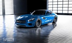Mercedes-AMG GT Tries Its Best To Look Special On 6Sixty Wheels