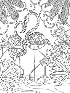 pour me donner des ailes coloring book agenda 2015 - Flamingo Coloring Pages