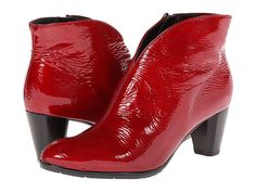 ara Tricia Red Crinkle Leather - Zappos.com Free Shipping BOTH Ways