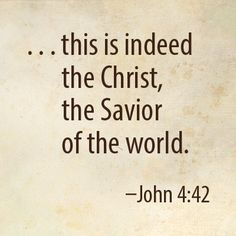 John 4:42