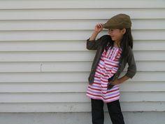 boy's shirt to girl's tunic