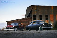 '49 Ford and '53 chevy