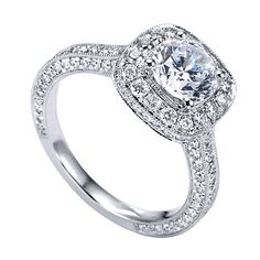 Genesis Designs ER7256,  $2300  Love,  Genesis Diamonds  www.genesisdiamonds.net  #GenesisDesigns #stunning #lovely