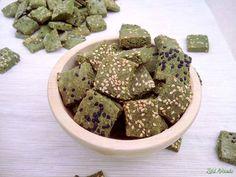 Szezámmagos spenótos kréker a Zöld Avocado vegetáriánus gasztroblogon (gluténmentes, laktózmentes, tojásmentes, vegán)