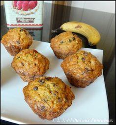 Voici une recette toute simple que je fais de temps en temps avec mes filles. Ingrédients pour 10 à 12 beaux muffins : Mélange 1 : - 250 g de farine - 110 g de pépites de chocolat noir (voir ici, clic) - 7 g de bicarbonate alimentaire (ou un peu plus...