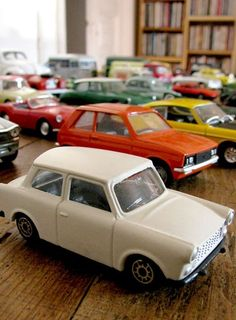 Retro toy cars collection
