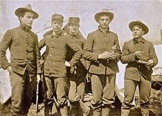 soldiers during spanish american war