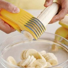 New Stainless Steel Cutter Cut Cucumber Banana fruit Slicer kitchen Tools Tool