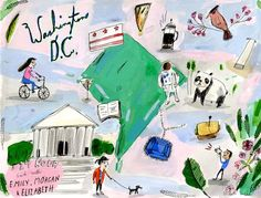 24 Hours in D.C. with Emily Hilliard, Morgan Hungerford West and Elizabeth Graeber