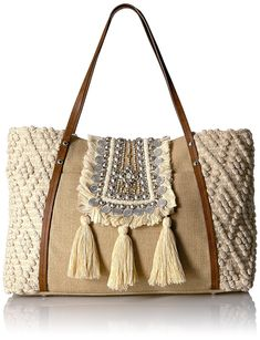 Steven by Steve Madden Jali, Natural: Handbags: Amazon.com