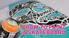How to paint your Skateboard / Longboard / Skimboard etc. (1080p)