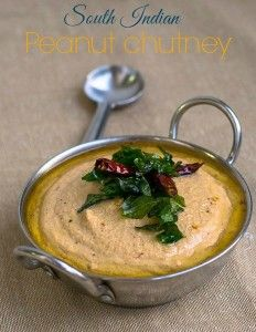 Best recipe for South Indian Tamilnadu style Groundnut Chutney that can be served with idli and dosa varieties. Tangy, spicy and creamy. Easy Chutney Recipe, Indian Chutney Recipes, Indian Food Recipes, Vegetarian Recipes, Cooking Recipes, Healthy Recipes, Curry Recipes, Kitchen Recipes, Healthy Foods