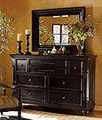 Tommy Bahama Home Kingstown Stony Point Triple Dresser & Fairpoint Mirror