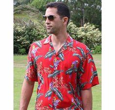 Thomas Magnum shirt for my husband! <3