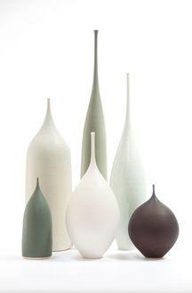 Soft sculptural vessels by Sophie Cook
