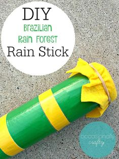 Kids Craft: DIY Rain Stick, Diy And Crafts, Simple DIY and Craft Tutorials, Recipes, and Parenting Thoughts for busy women and moms. Around The World Crafts For Kids, Around The World Theme, We Are The World, Around The Worlds, Vbs Crafts, Camping Crafts, Preschool Crafts, Diy Crafts For Kids, Summer Crafts