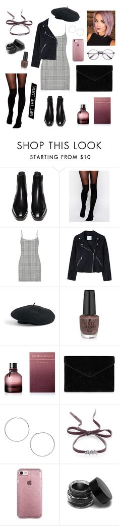 """Untitled #35"" by haylee0110 on Polyvore featuring ASOS, Alexander Wang, MANGO, Venus, OPI, Bottega Veneta, Rebecca Minkoff, Miss Selfridge, Fallon and Speck"