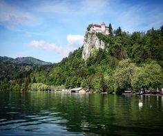 Slovenian beautiful town Bled